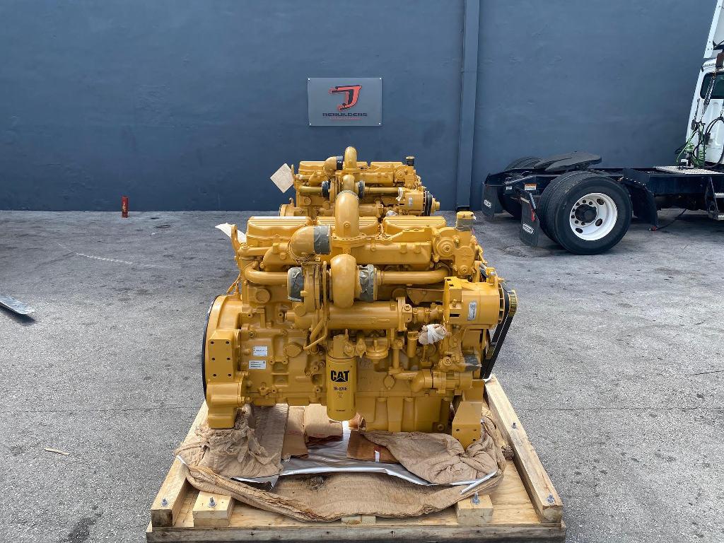 NEW 2008 CAT C12 COMPLETE ENGINE TRUCK PARTS #2595