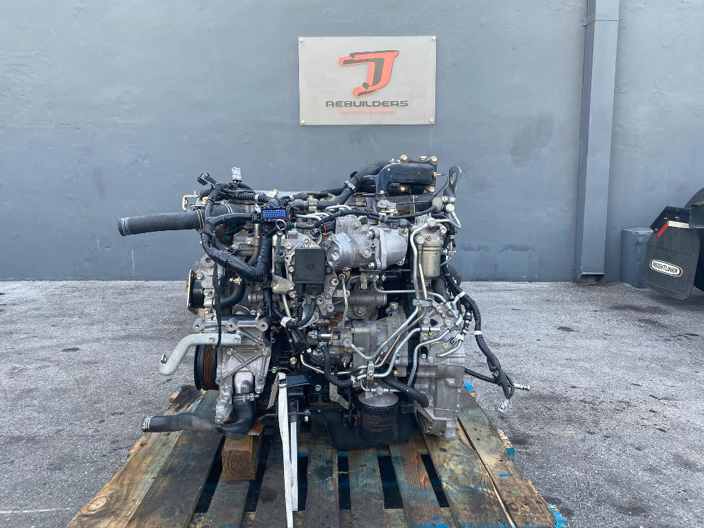 USED 2016 ISUZU 4HK1TC TRUCK ENGINE TRUCK PARTS #2598
