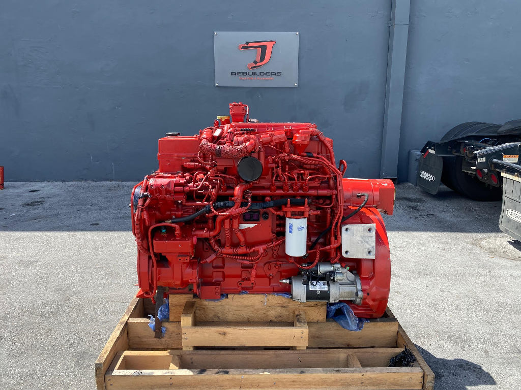 NEW 2009 CUMMINS ISC COMPLETE ENGINE TRUCK PARTS #2599