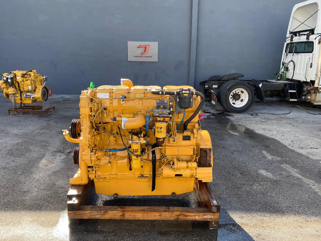 USED 2011 CAT C18 COMPLETE ENGINE TRUCK PARTS #2600