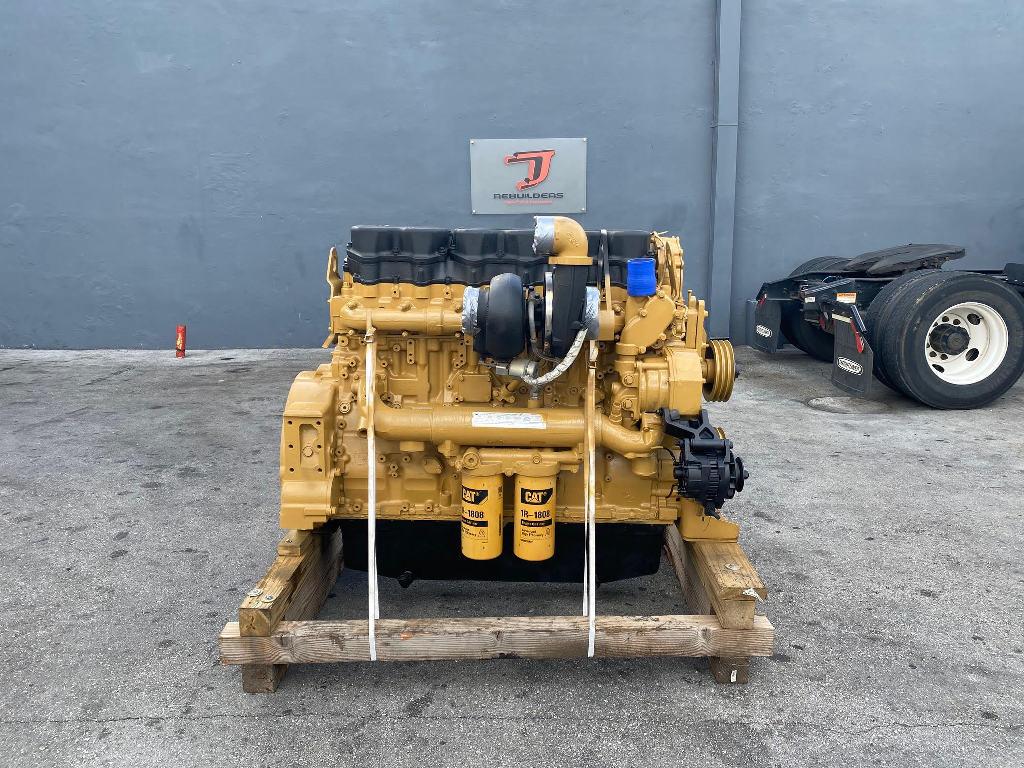 USED 2007 CAT C18 ACERT COMPLETE ENGINE TRUCK PARTS #2607