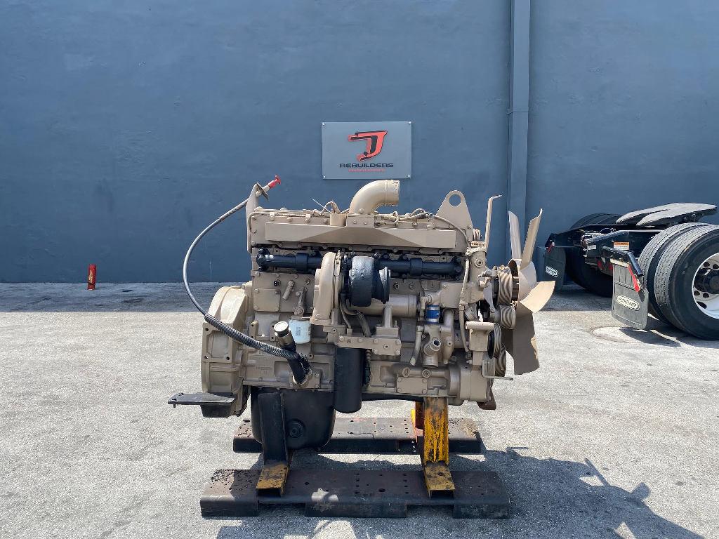 USED 2004 CUMMINS QSM11 COMPLETE ENGINE TRUCK PARTS #2613