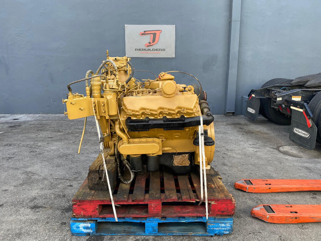 USED 1985 CAT 3208T TRUCK ENGINE TRUCK PARTS #2625