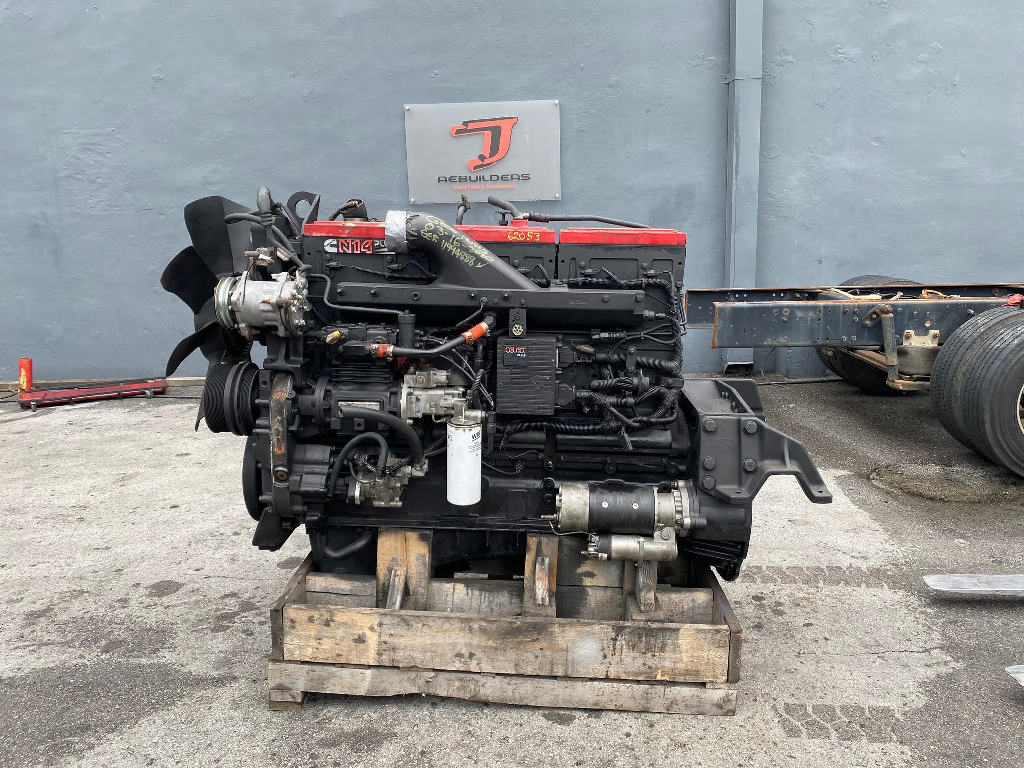 USED 2000 CUMMINS N14 CELECT PLUS TRUCK ENGINE TRUCK PARTS #2665