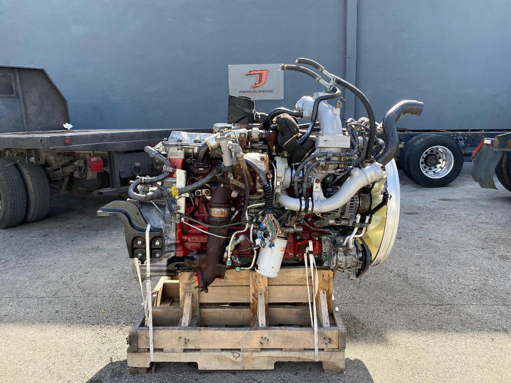 USED 2016 HINO J08E-WU TRUCK ENGINE TRUCK PARTS #2667