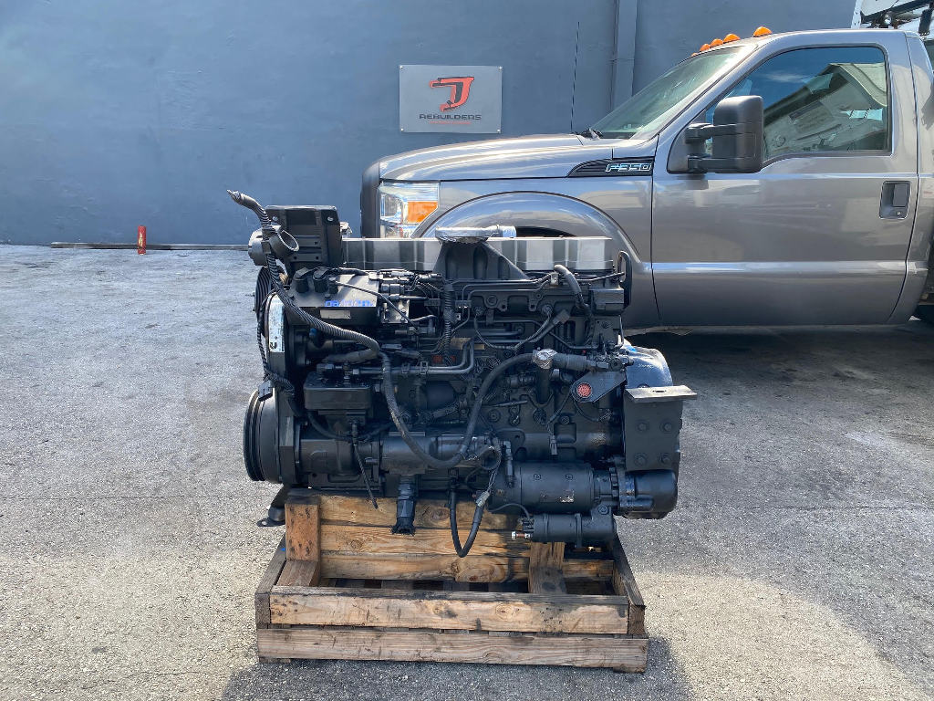 USED 2002 CUMMINS ISL TRUCK ENGINE TRUCK PARTS #2714
