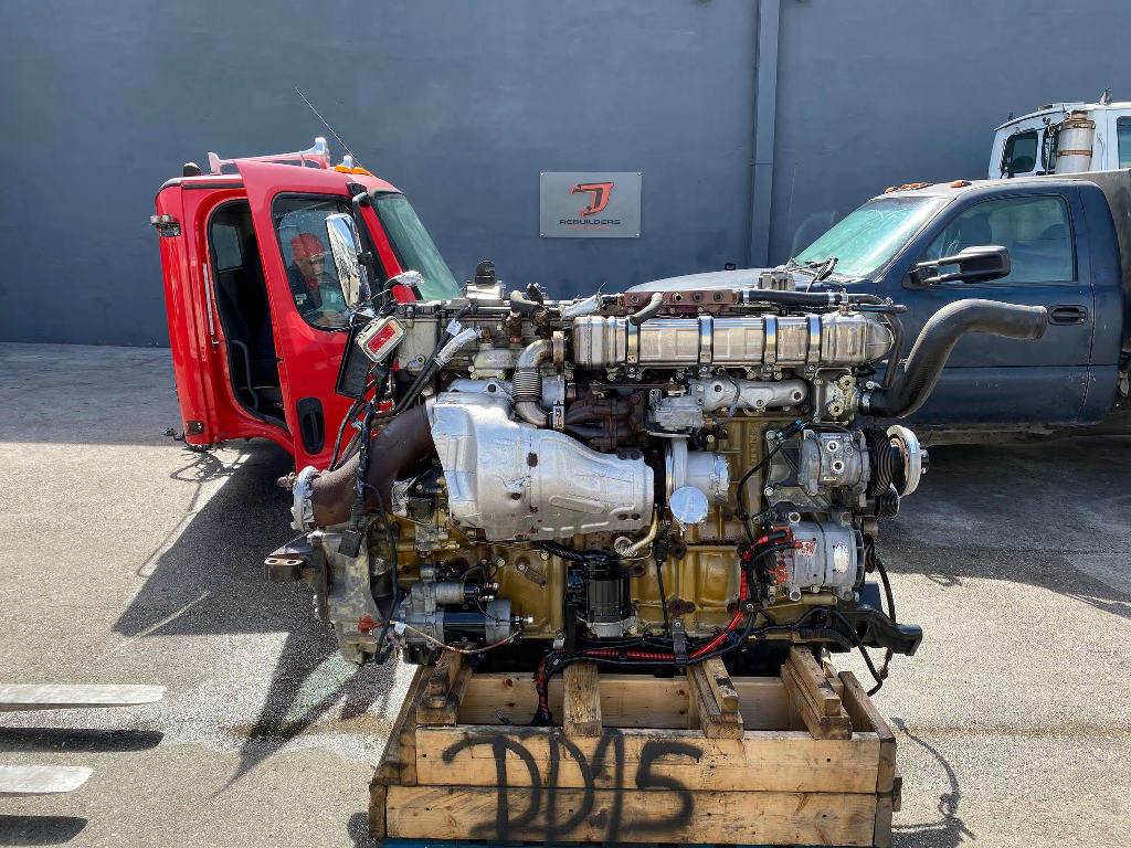 USED 2012 DETROIT DD15 TRUCK ENGINE TRUCK PARTS #2722