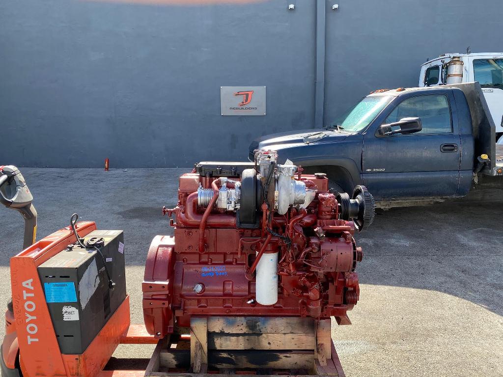 USED 2008 CUMMINS ISL TRUCK ENGINE TRUCK PARTS #2726