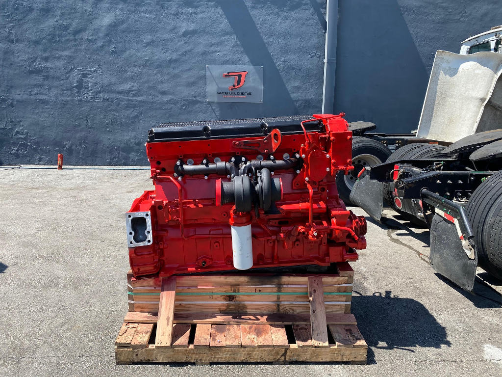 REBUILT 2002 CUMMINS ISX TRUCK ENGINE TRUCK PARTS #2758