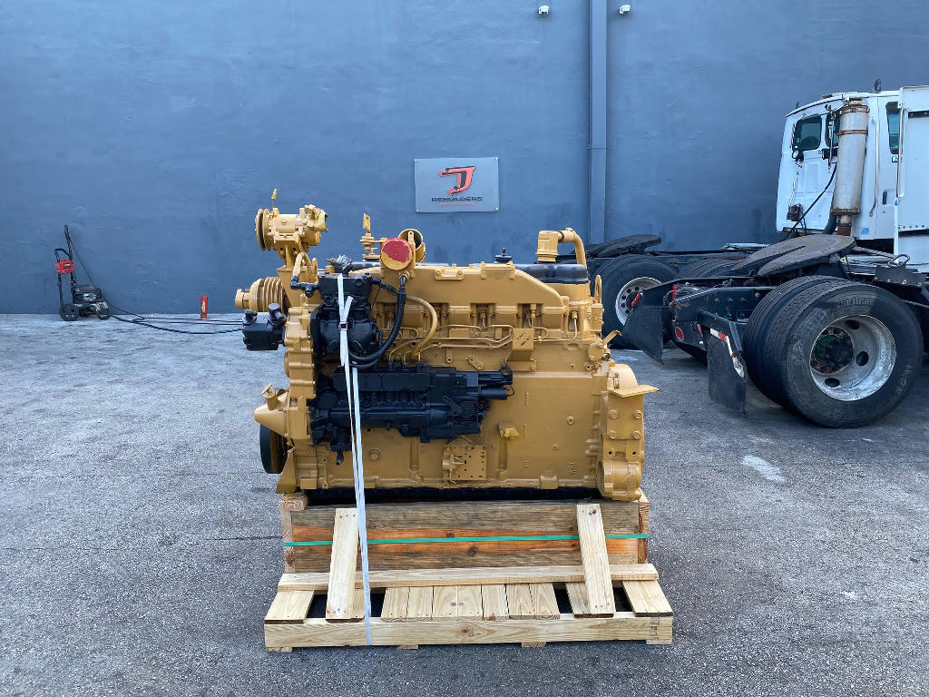 USED 1987 CAT 3406B TRUCK ENGINE TRUCK PARTS #2771