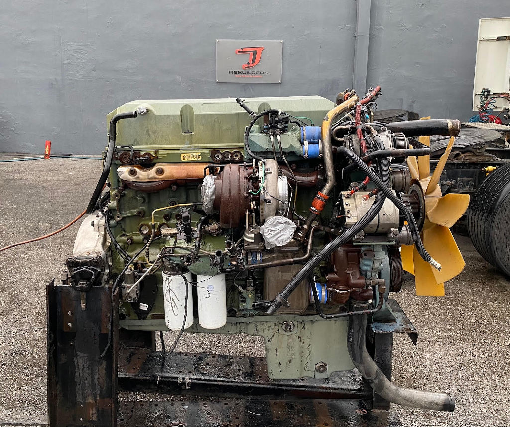 USED 2006 DETROIT SERIES 60 14.0L TRUCK ENGINE TRUCK PARTS #2808