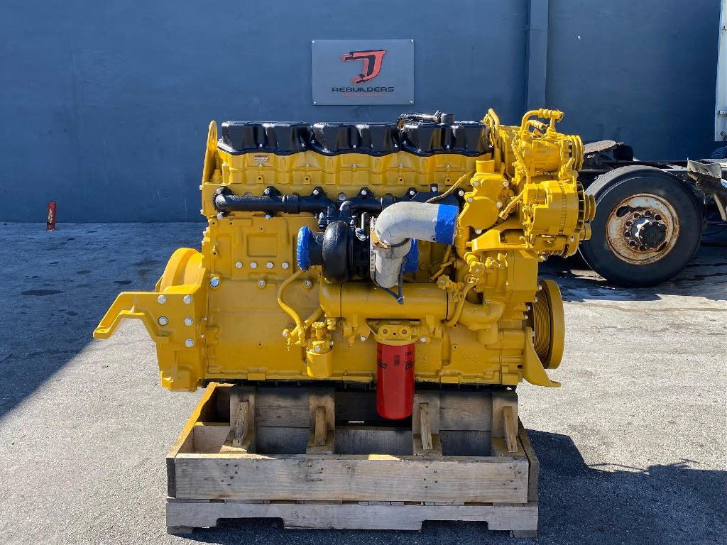 USED 1996 CAT 3406E TRUCK ENGINE TRUCK PARTS #2833