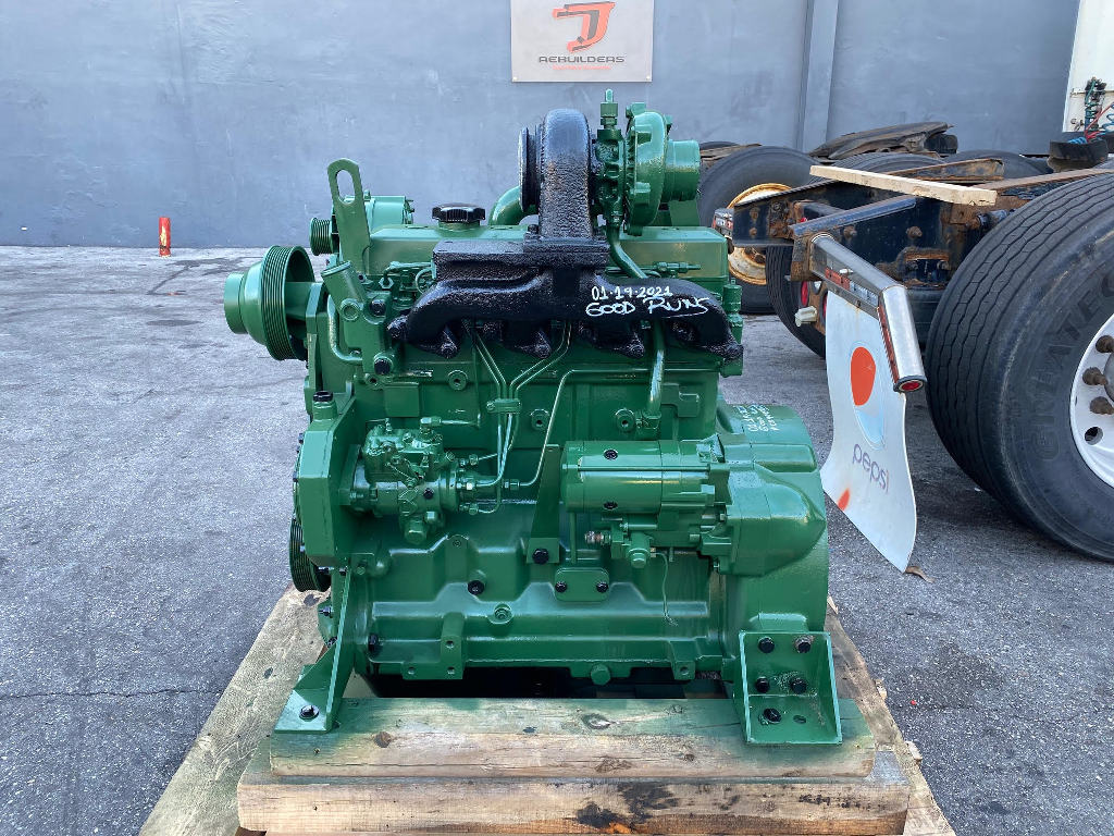 USED 1995 JOHN DEERE 4045TF150 EQUIPMENT ENGINE TRUCK PARTS #2854