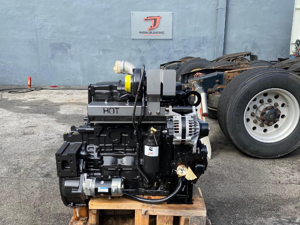 NEW 2016 CUMMINS QSB4.5 TRUCK ENGINE TRUCK PARTS #2876