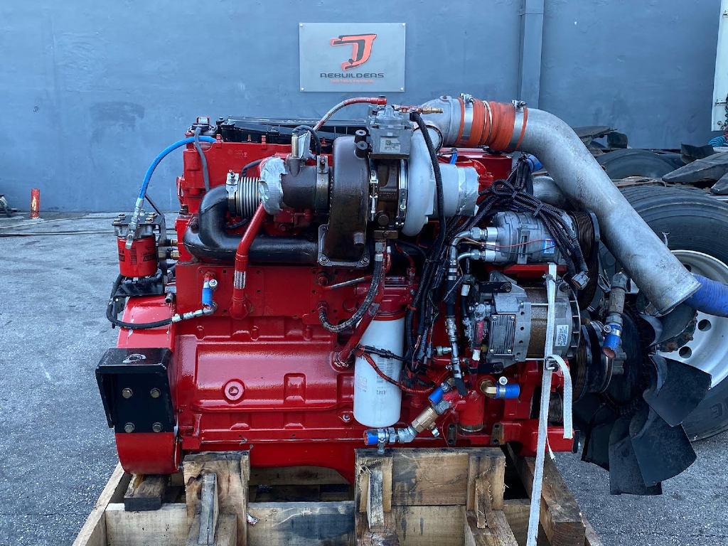 USED 2015 CUMMINS ISL9 TRUCK ENGINE TRUCK PARTS #2888
