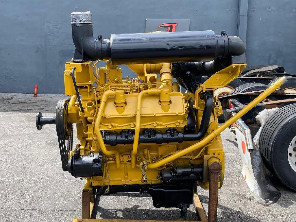 USED CATERPILLAR 3408 DI EQUIPMENT ENGINE TRUCK PARTS #2901