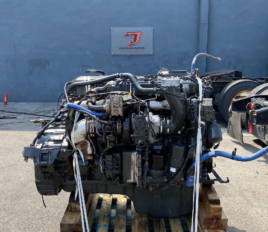 USED 2014 PACCAR MX-13 TRUCK ENGINE TRUCK PARTS #2918