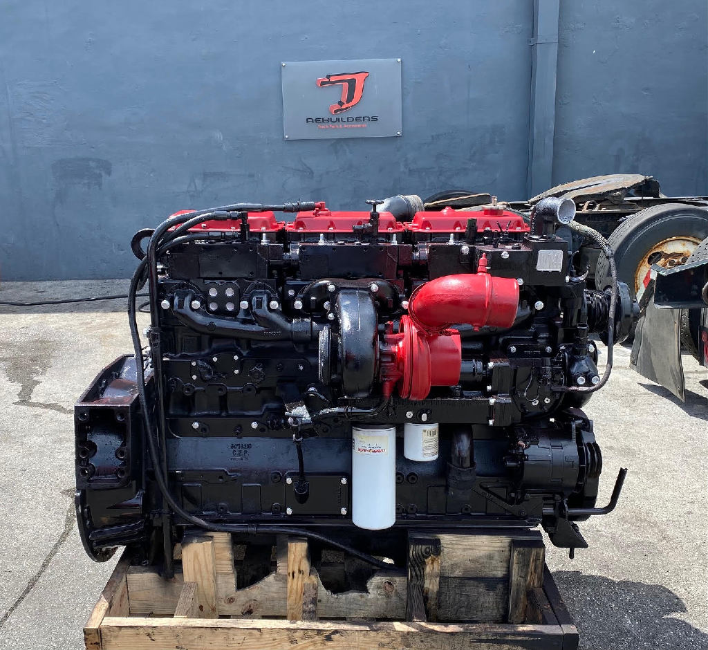 USED 1993 CUMMINS N14 MECHANICAL TRUCK ENGINE TRUCK PARTS #2922