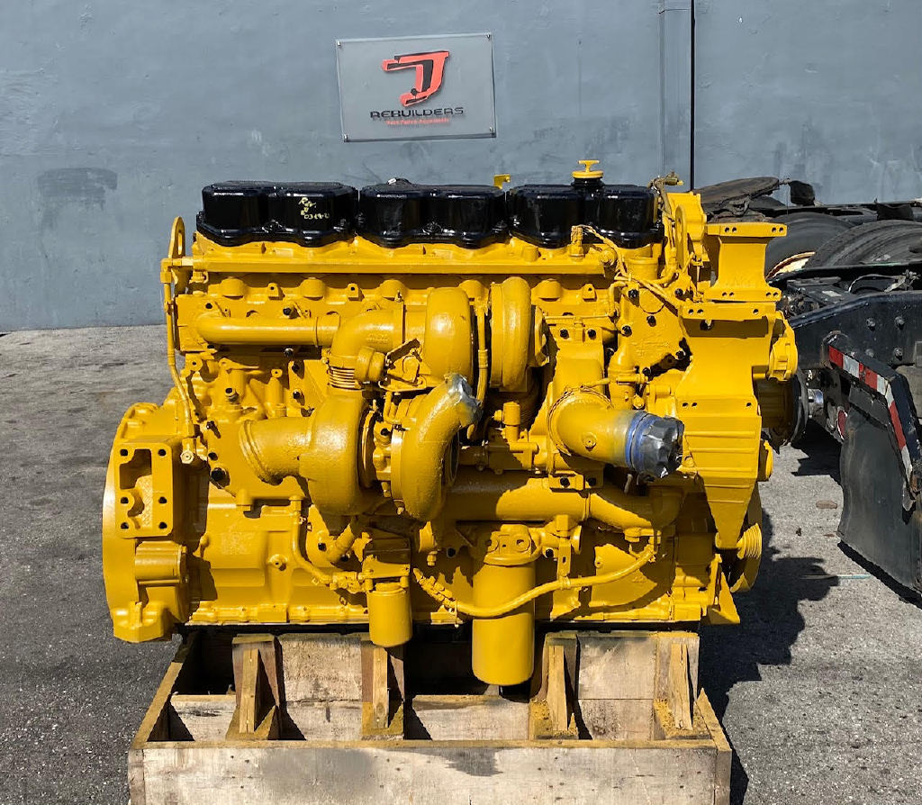 USED 2006 CAT C15 ACERT TRUCK ENGINE TRUCK PARTS #2927