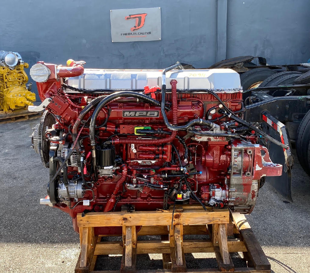USED 2014 MACK MP8 TRUCK ENGINE TRUCK PARTS #2928