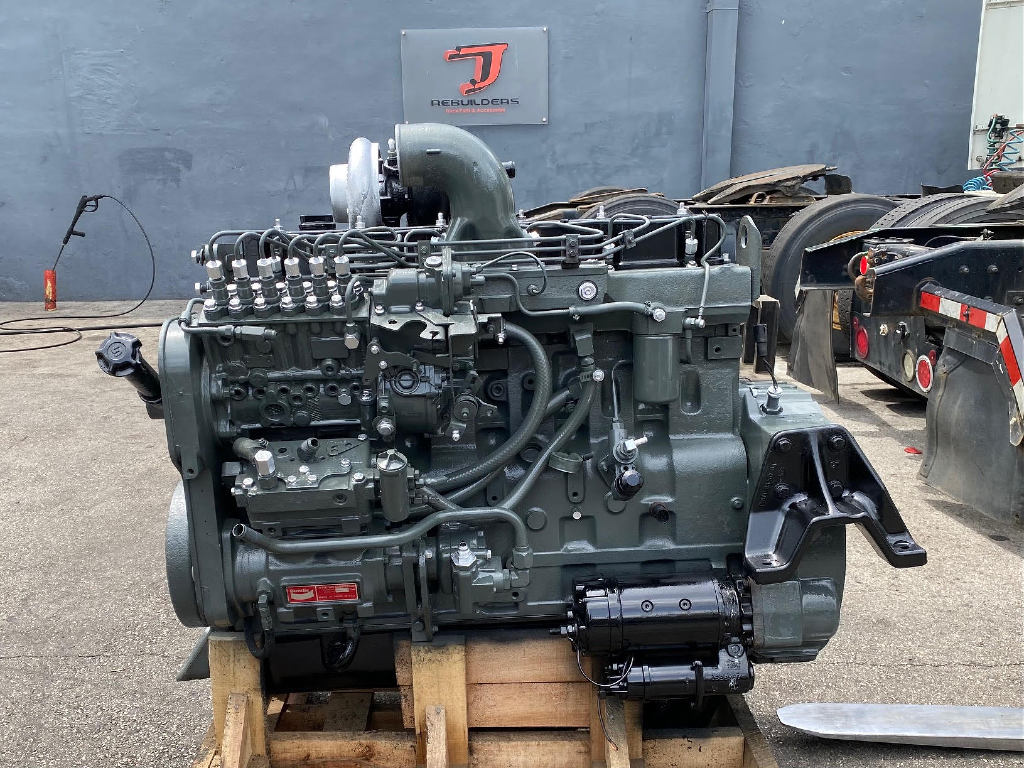 USED 1997 CUMMINS 8.3 6CT TRUCK ENGINE TRUCK PARTS #2936