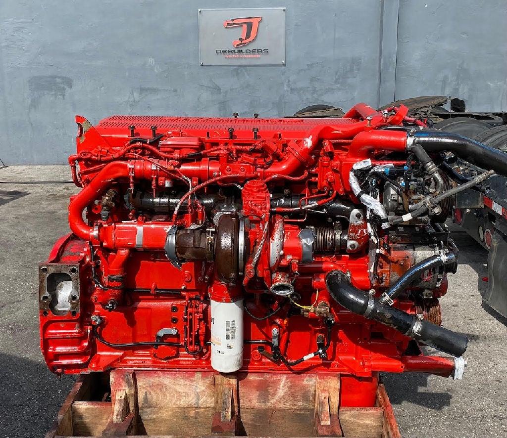 USED 2016 CUMMINS ISX15 TRUCK ENGINE TRUCK PARTS #2937