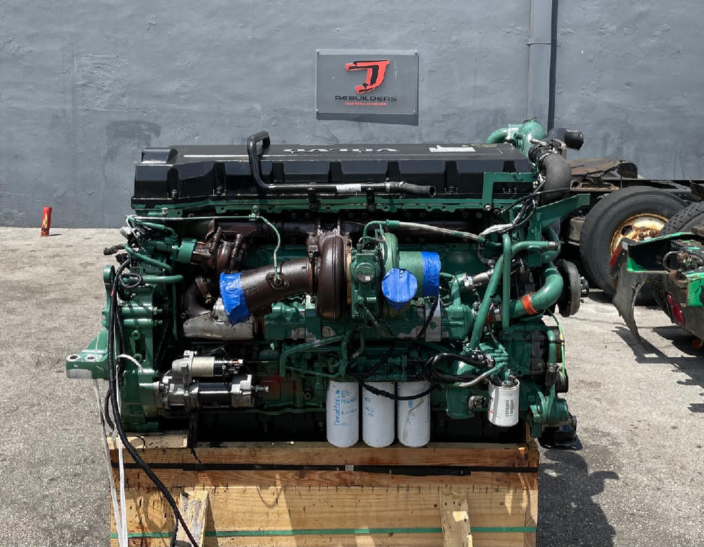 USED 2012 VOLVO D16 TRUCK ENGINE TRUCK PARTS #2963