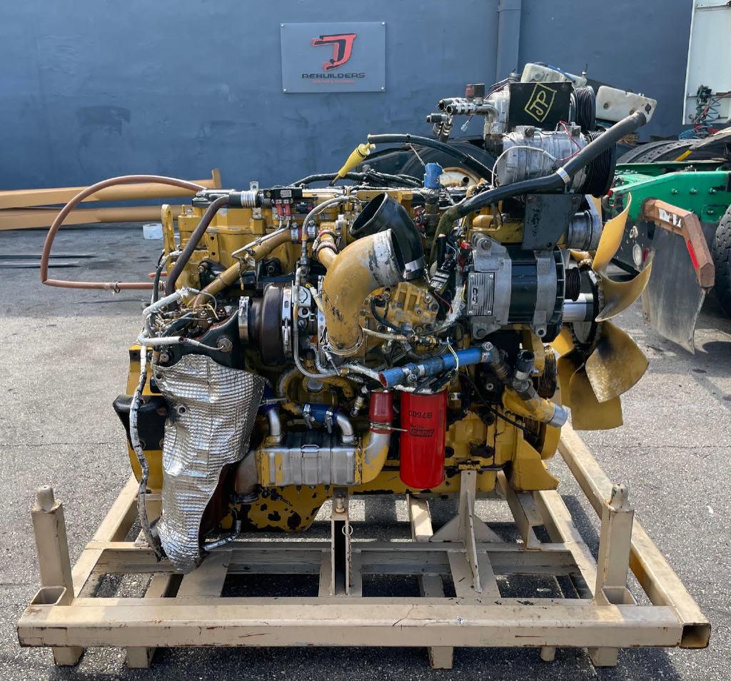 USED 2007 CAT C7 ACERT TRUCK ENGINE TRUCK PARTS #2971