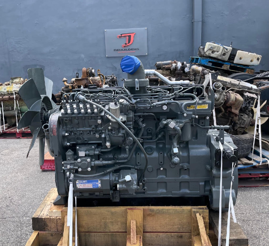 USED 1995 CUMMINS 8.3 6CT TRUCK ENGINE TRUCK PARTS #2977