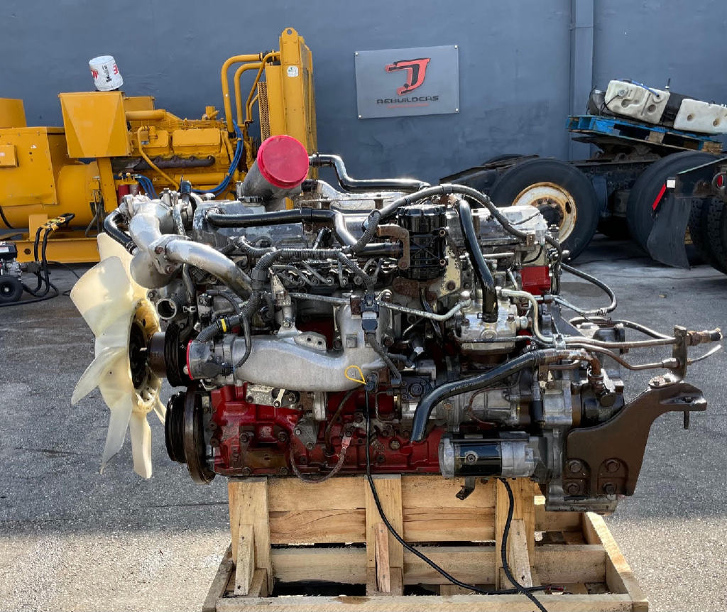 USED 2008 HINO J08E-TW TRUCK ENGINE TRUCK PARTS #2979