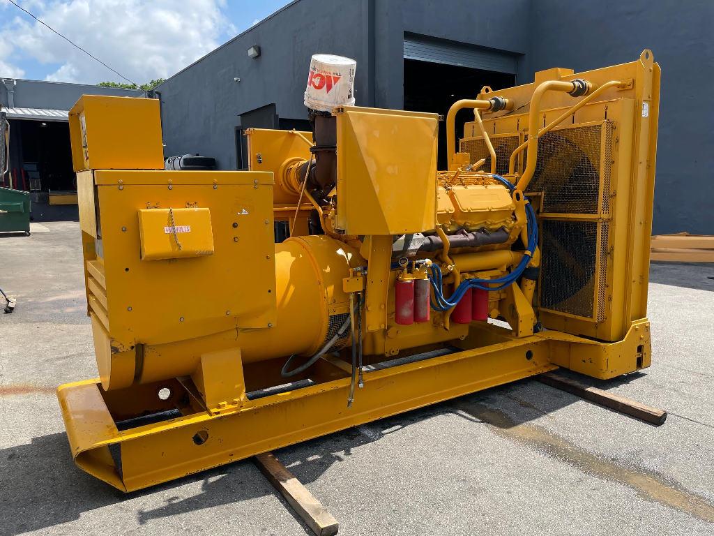 USED CATERPILLAR 3412 SR-4 EQUIPMENT ENGINE TRUCK PARTS #2980