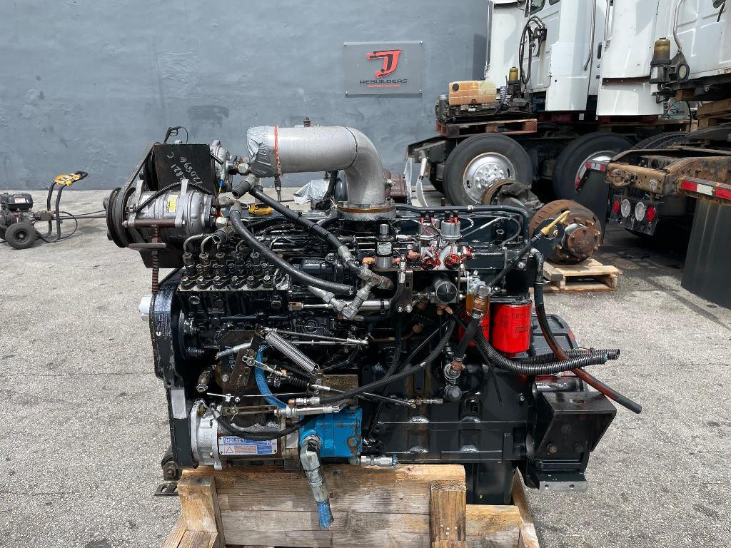 USED 1996 CUMMINS 8.3 6CT TRUCK ENGINE TRUCK PARTS #3010