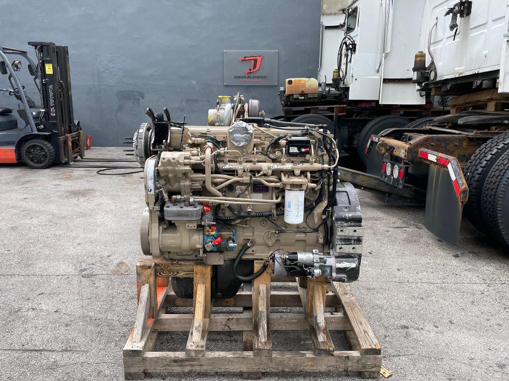 USED 2006 CUMMINS ISL TRUCK ENGINE TRUCK PARTS #3013