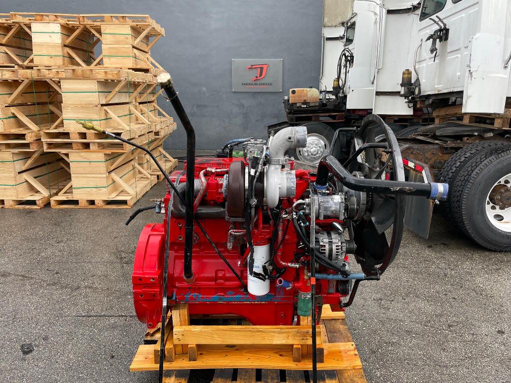 USED 2007 CUMMINS ISL TRUCK ENGINE TRUCK PARTS #3015