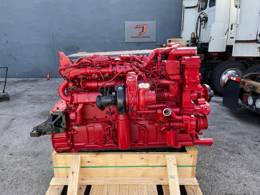 USED 2012 CUMMINS ISX15 TRUCK ENGINE TRUCK PARTS #3024