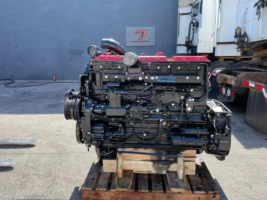 USED 1991 CUMMINS N14 MECHANICAL TRUCK ENGINE TRUCK PARTS #3029