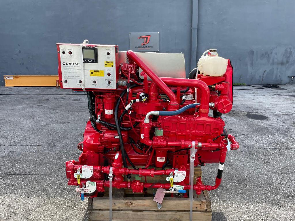 NEW 2019 CLARKE JU6H-UFADR8 EQUIPMENT ENGINE TRUCK PARTS #3056