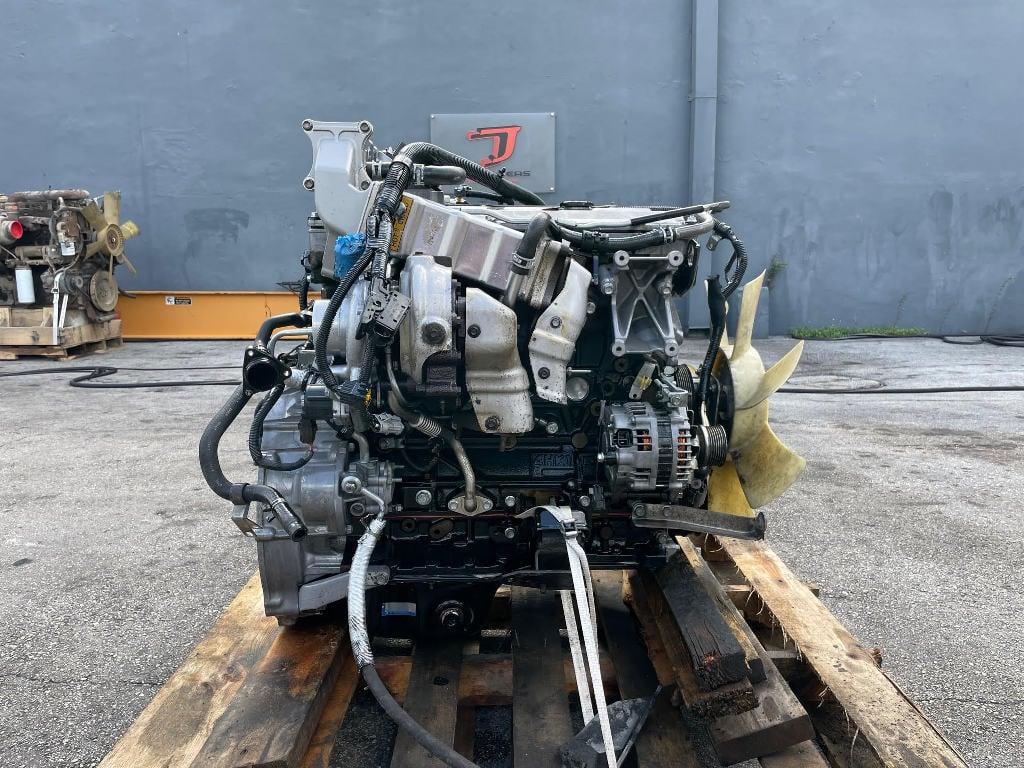 USED 2007 ISUZU 4HK1TC TRUCK ENGINE TRUCK PARTS #3058
