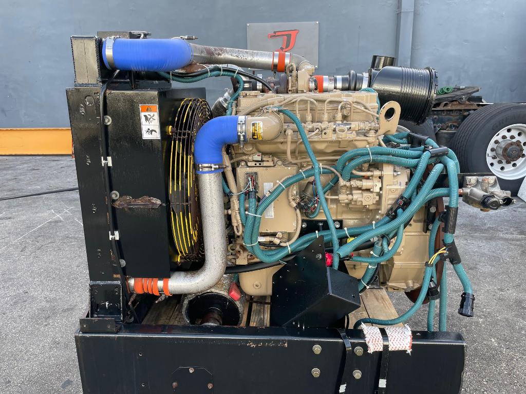 USED 2012 CUMMINS QSB 4.5 EQUIPMENT ENGINE TRUCK PARTS #3065