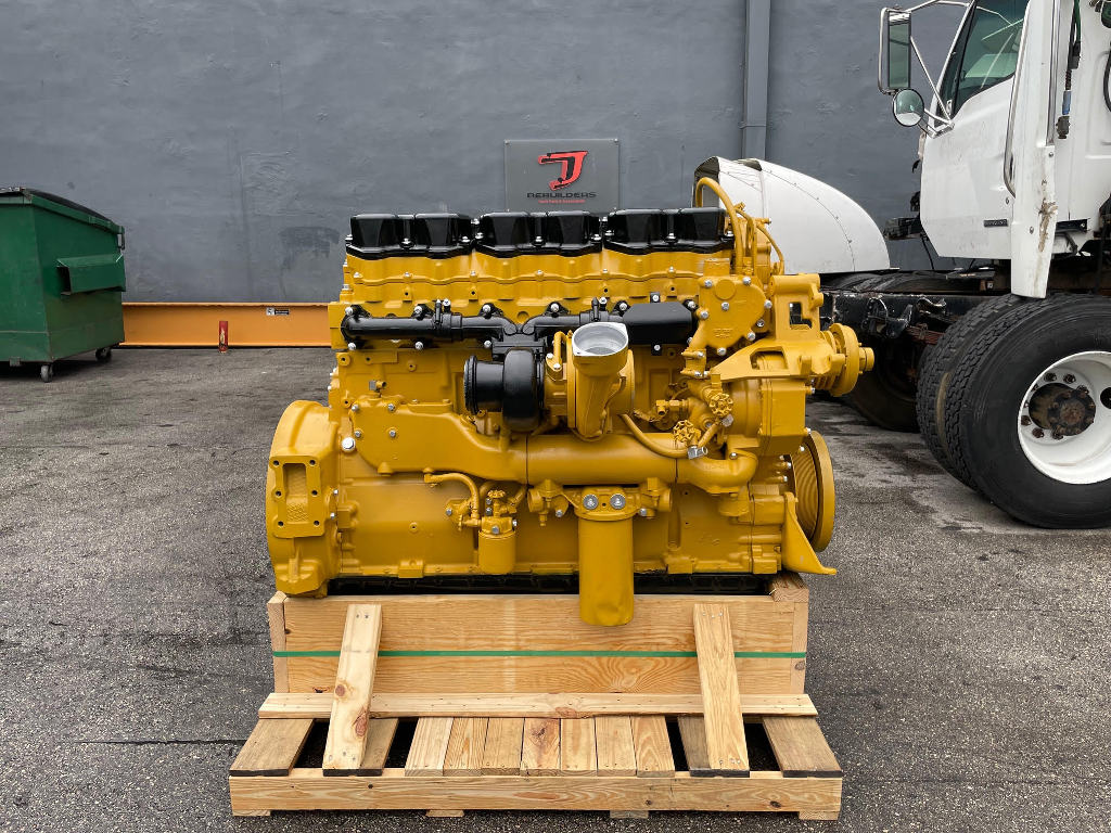USED 1999 CAT 3406E 2WS TRUCK ENGINE TRUCK PARTS #3093