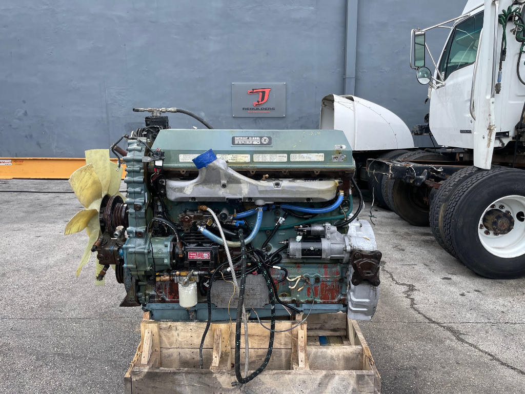 USED 1992 DETROIT SERIES 60 12.7 TRUCK ENGINE TRUCK PARTS #3095