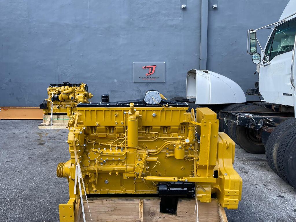 USED CATERPILLAR 3406C EQUIPMENT ENGINE TRUCK PARTS #3106