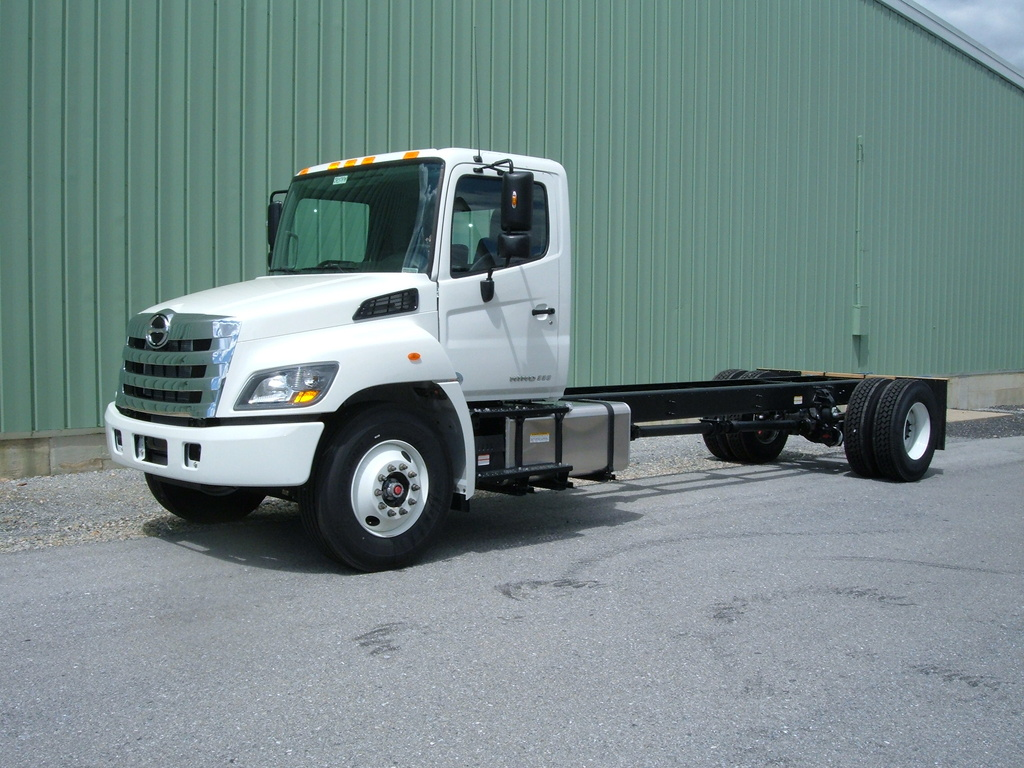 NEW 2018 HINO 338 CAB CHASSIS TRUCK #1007