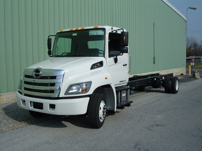 NEW 2020 HINO 258ALP CAB CHASSIS TRUCK #1078-1
