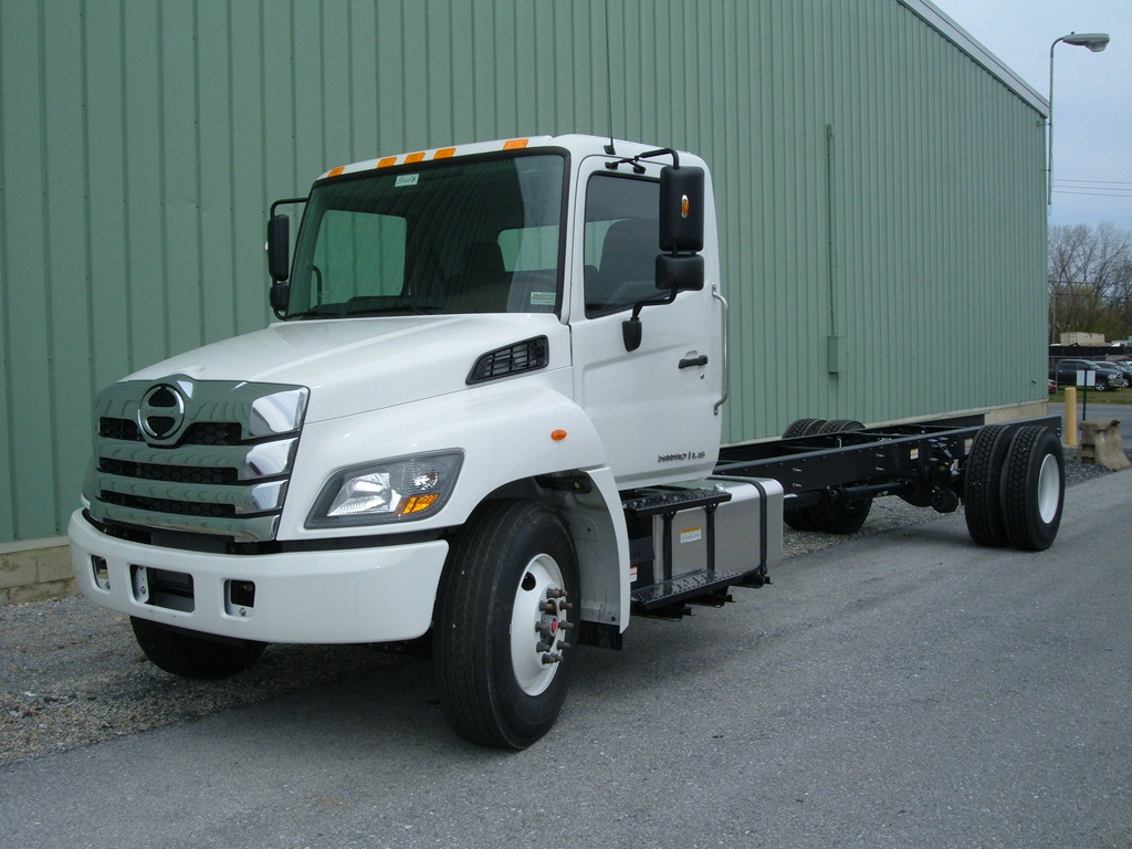 NEW 2021 HINO L6 CAB CHASSIS TRUCK #1105