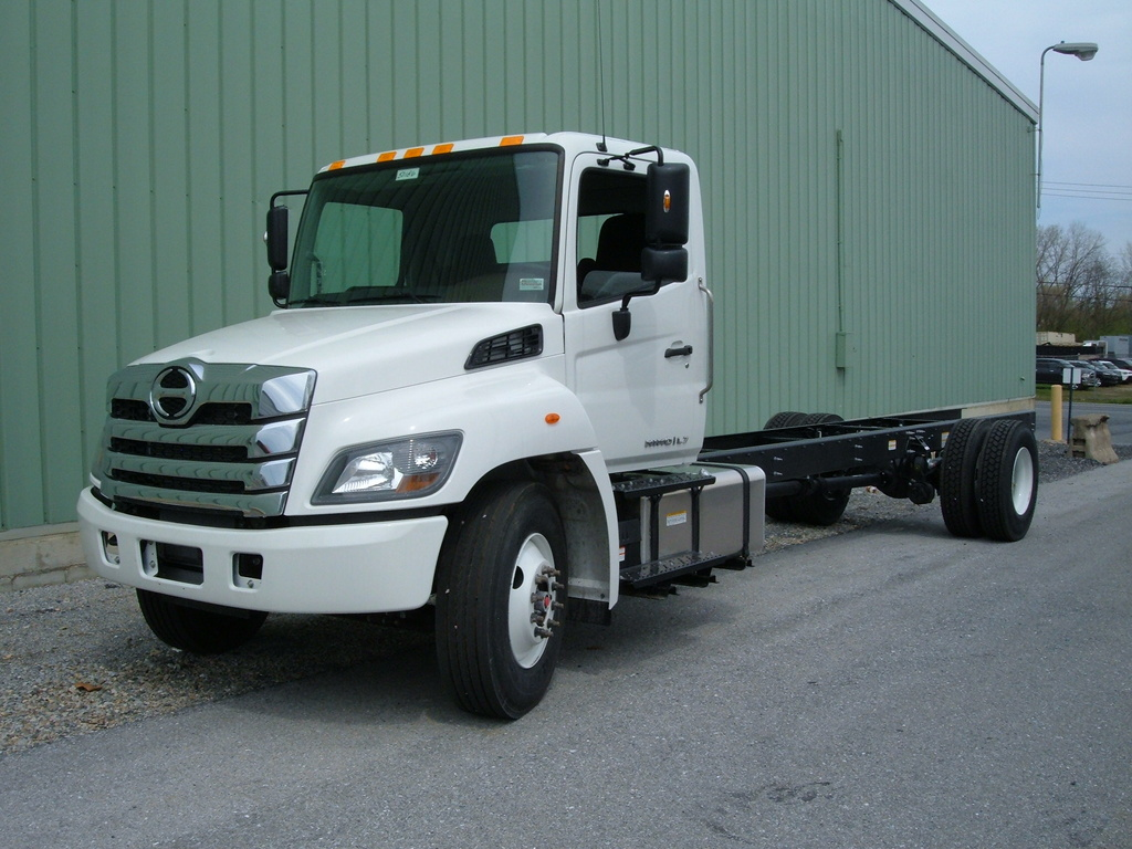 NEW 2021 HINO L7 CAB CHASSIS TRUCK #1106