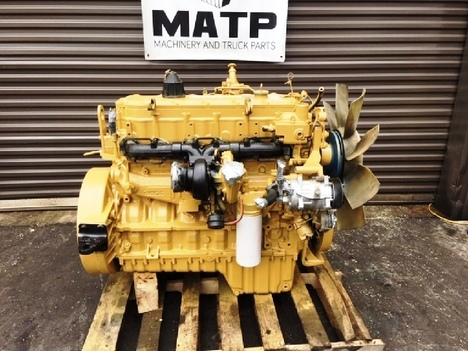 USED 1999 CAT 3126 TRUCK ENGINE TRUCK PARTS #11411