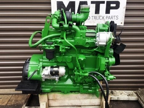 1998 JOHN DEERE 4045TF150 Complete Engine #11474