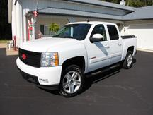 USED 2008 CHEVROLET CREW CAB 1500 LTZ 4WD 1/2 TON PICKUP TRUCK #1156-10