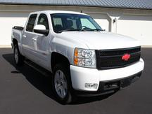 USED 2008 CHEVROLET CREW CAB 1500 LTZ 4WD 1/2 TON PICKUP TRUCK #1156-4